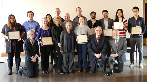 2016-17-Undergraduate awards group photo