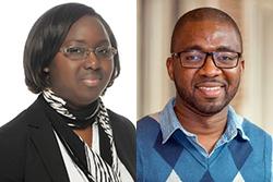 Professors Marlène Koffi and Ismael Mourifié