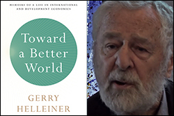 Helleiner Book Launch - Toward a Better World