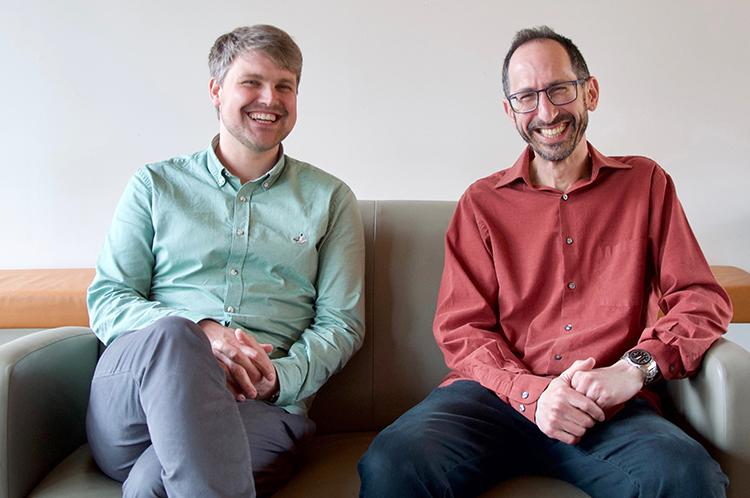 Johannes Hoelzemann and Professor Yoram Halevy