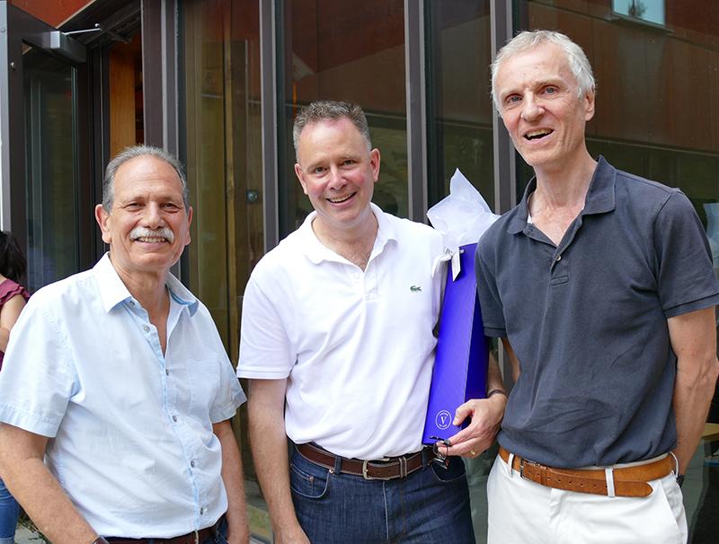 Professors Arthur Hosios, Dwayne Benjamin and Martin Osborne