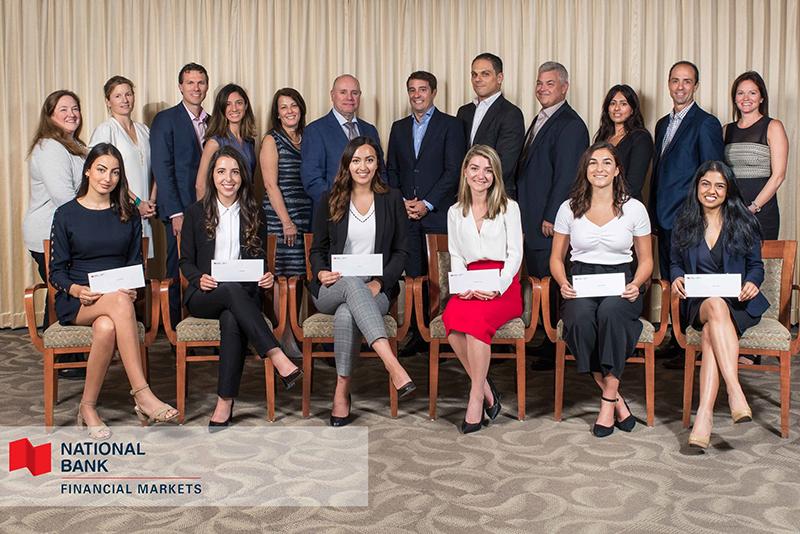 National Bank of Canada - 2019 Women in Financial Markets Internship Program Winners