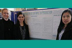 Economics participation in the Undergraduate Research Forum