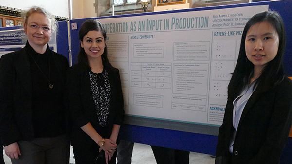 Rida Aamer at U of T Undergraduate Research Forum