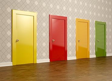 choice of doors